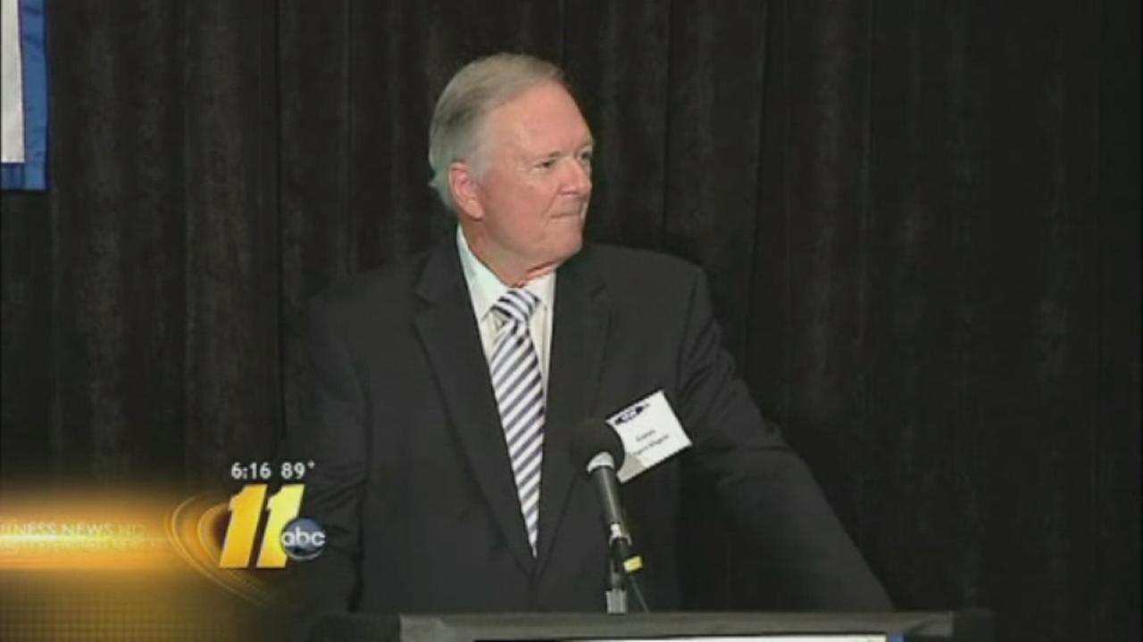 Larry Stogner inducted into North Carolina Association of Broadcasters Hall of Fame