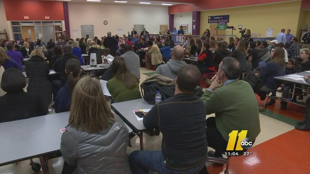 Parents of Brier Creek students upset by proposal to switch schools