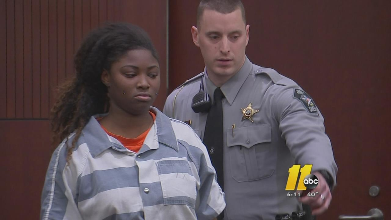 Jade Brown in court