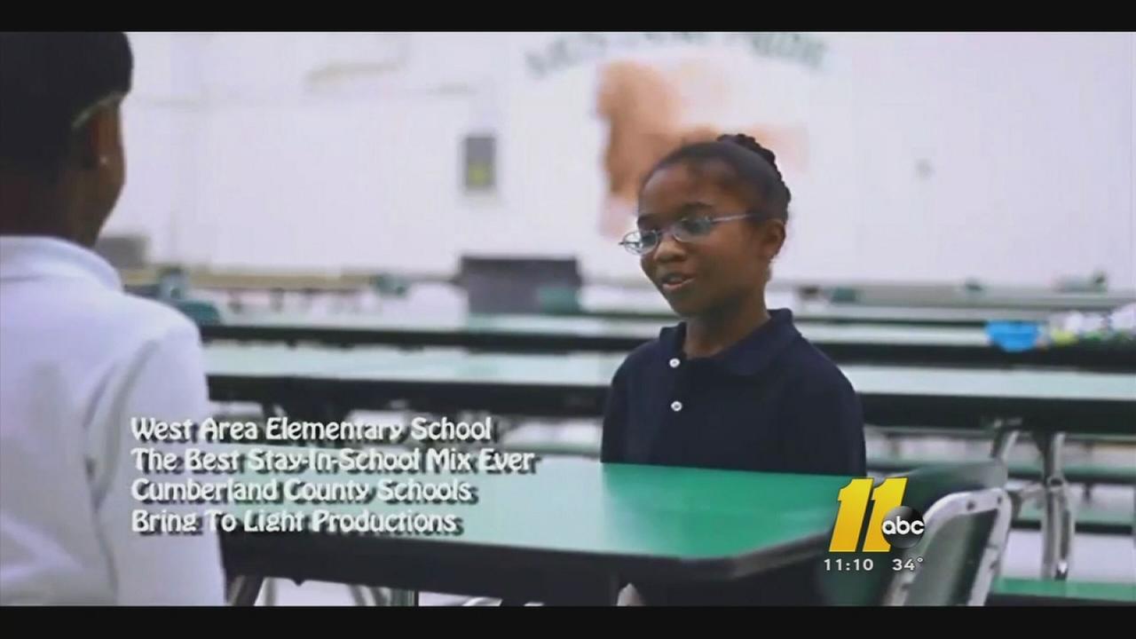 Fayetteville school students make stay in school hip-hop video