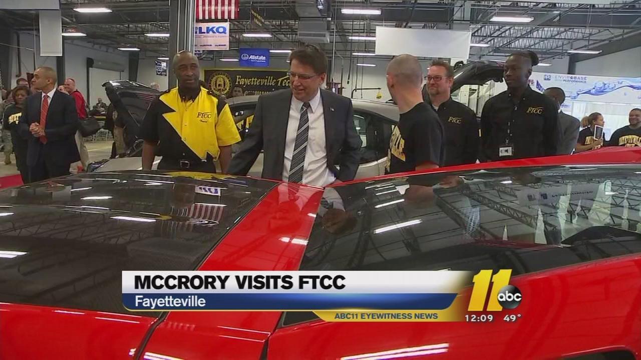 North Carolina Governor Pat McCrory announces new veteran initiatives ...