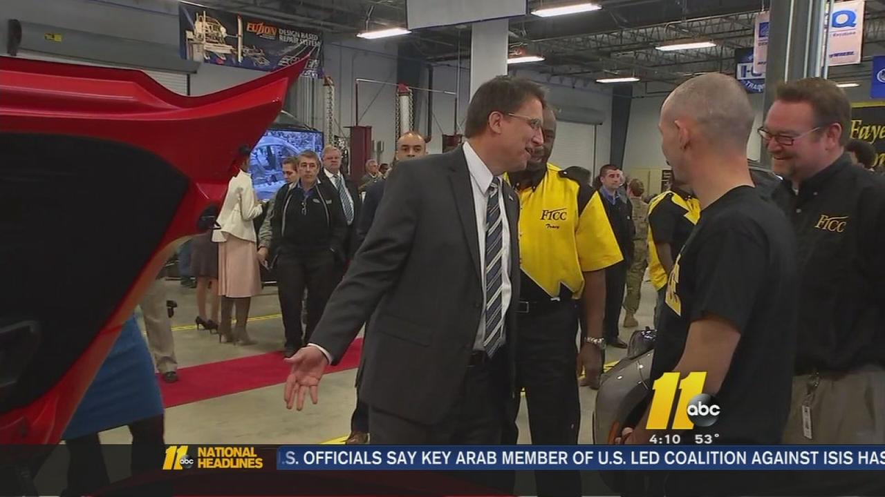 McCrory announces new veteran initiatives in Fayetteville