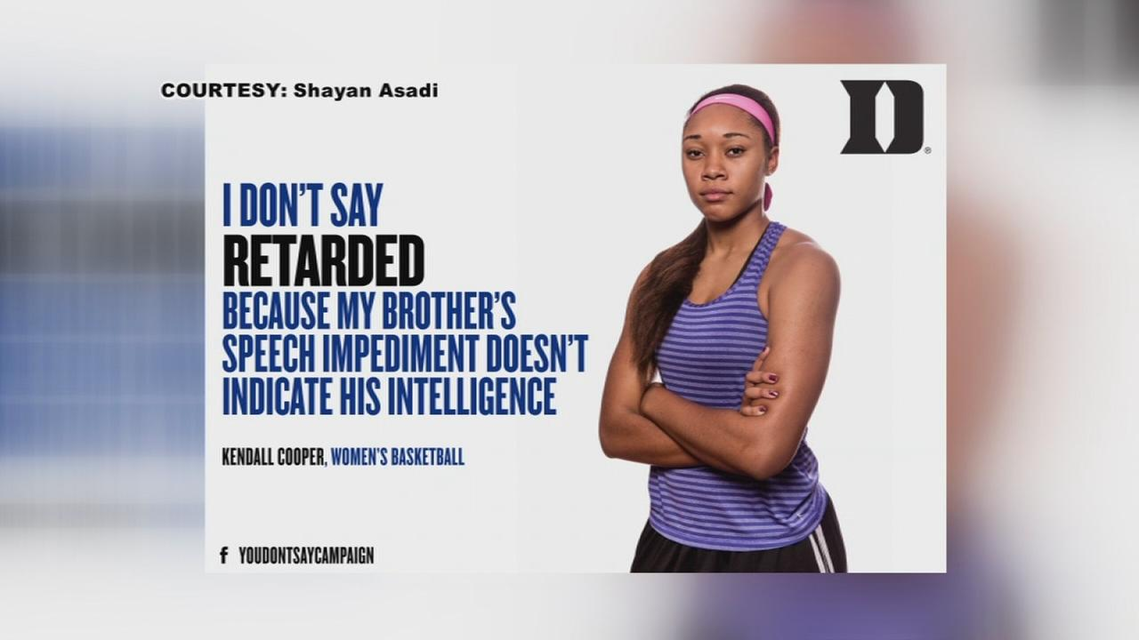 Duke athletes lend voices to powerful You Dont Say campaign