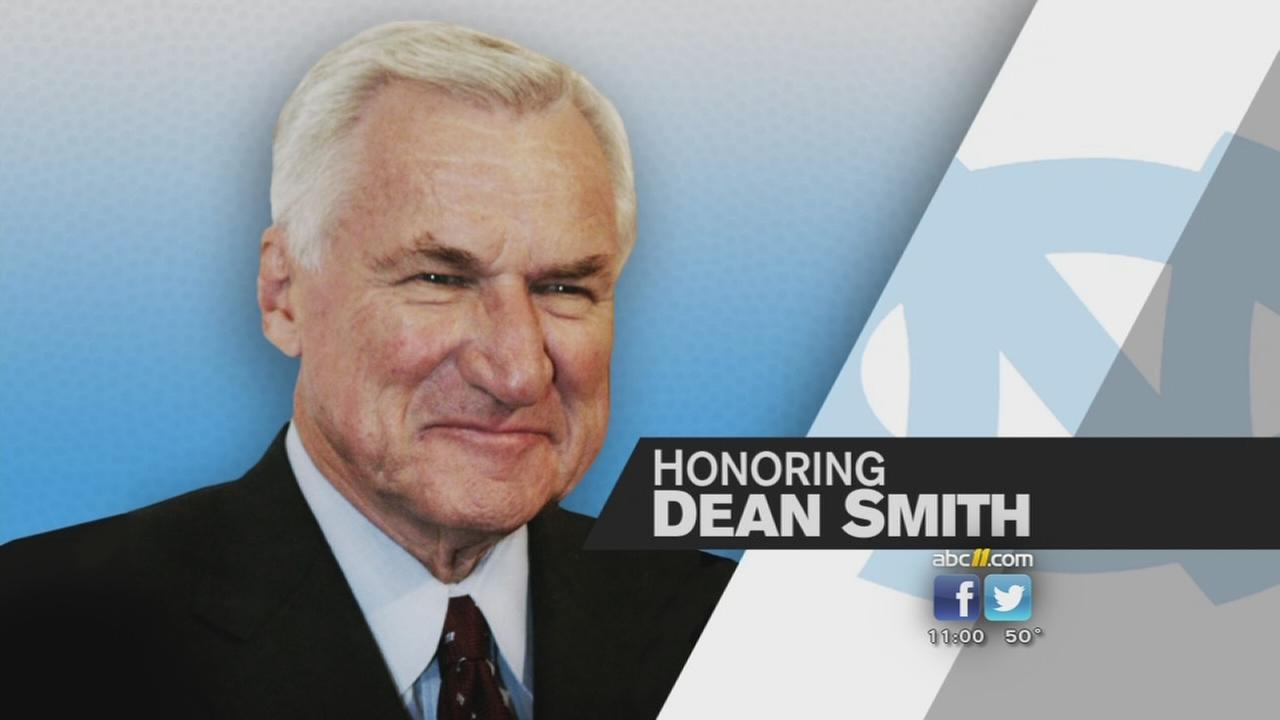 Jay Smith Unc Legendary Unc Coach Dean Smith