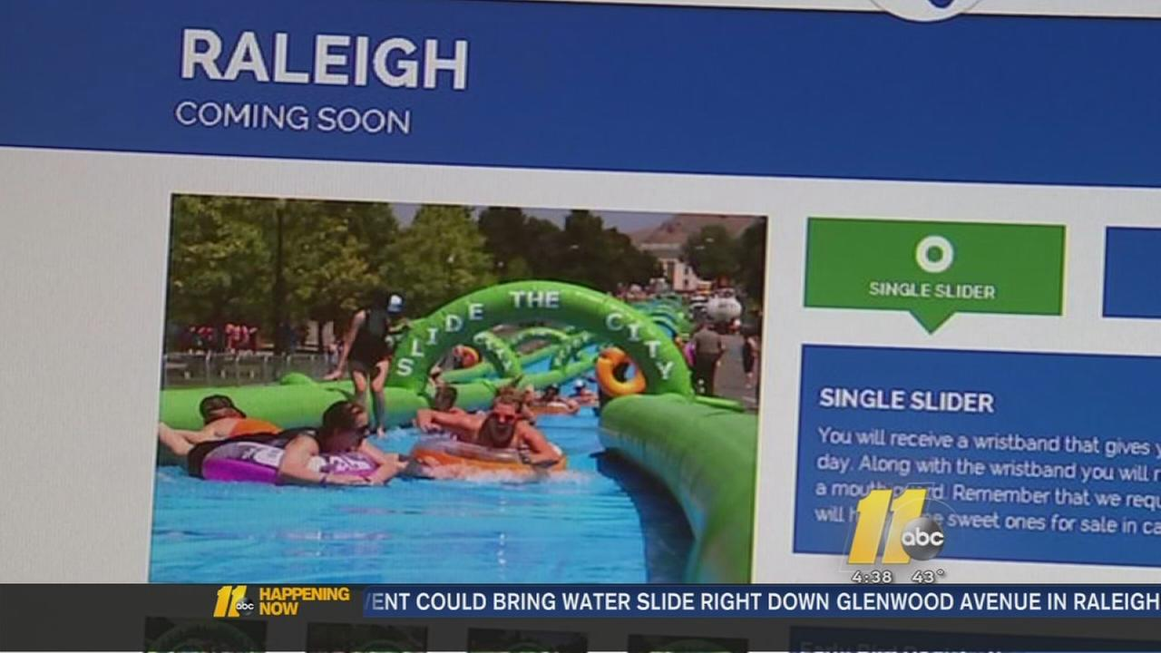 Raleigh water slide