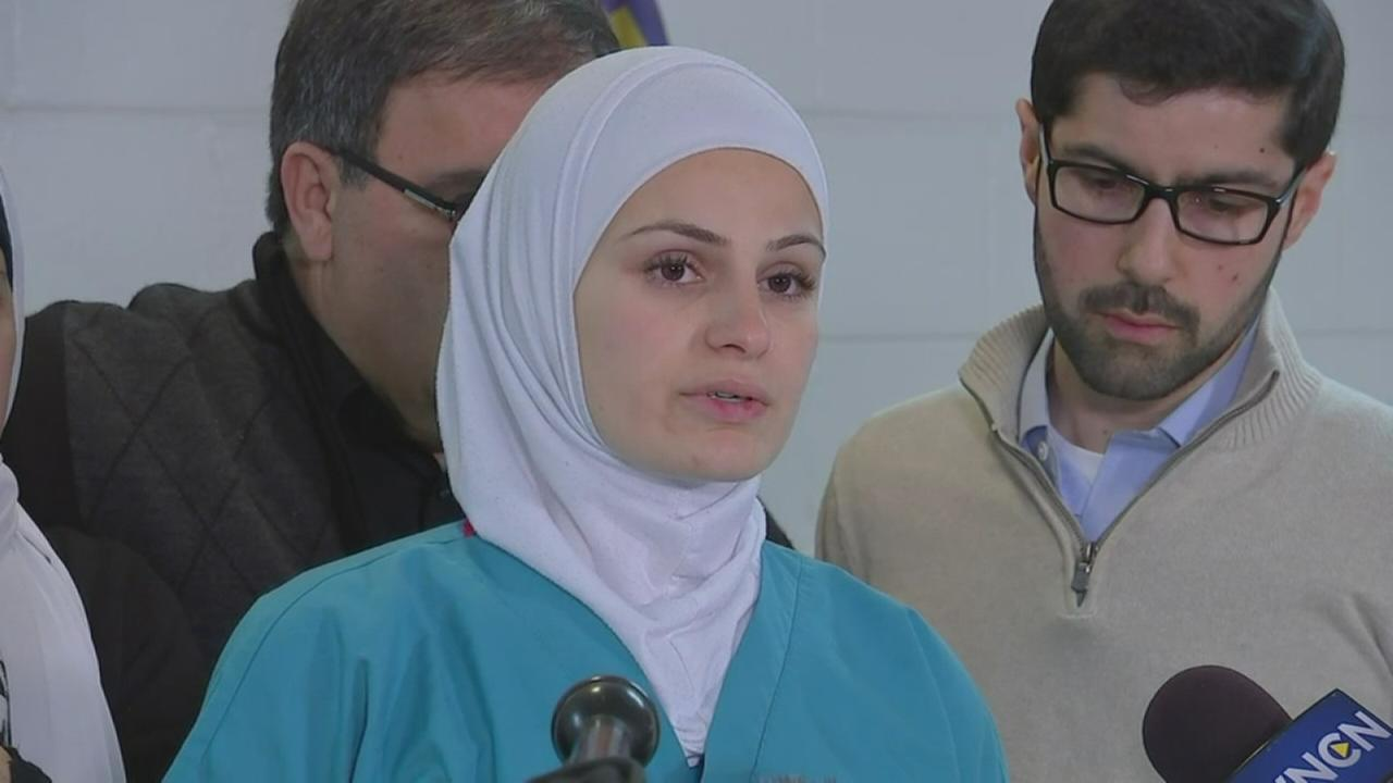 Raw Video: Family of Chapel Hill shooting victims speaks