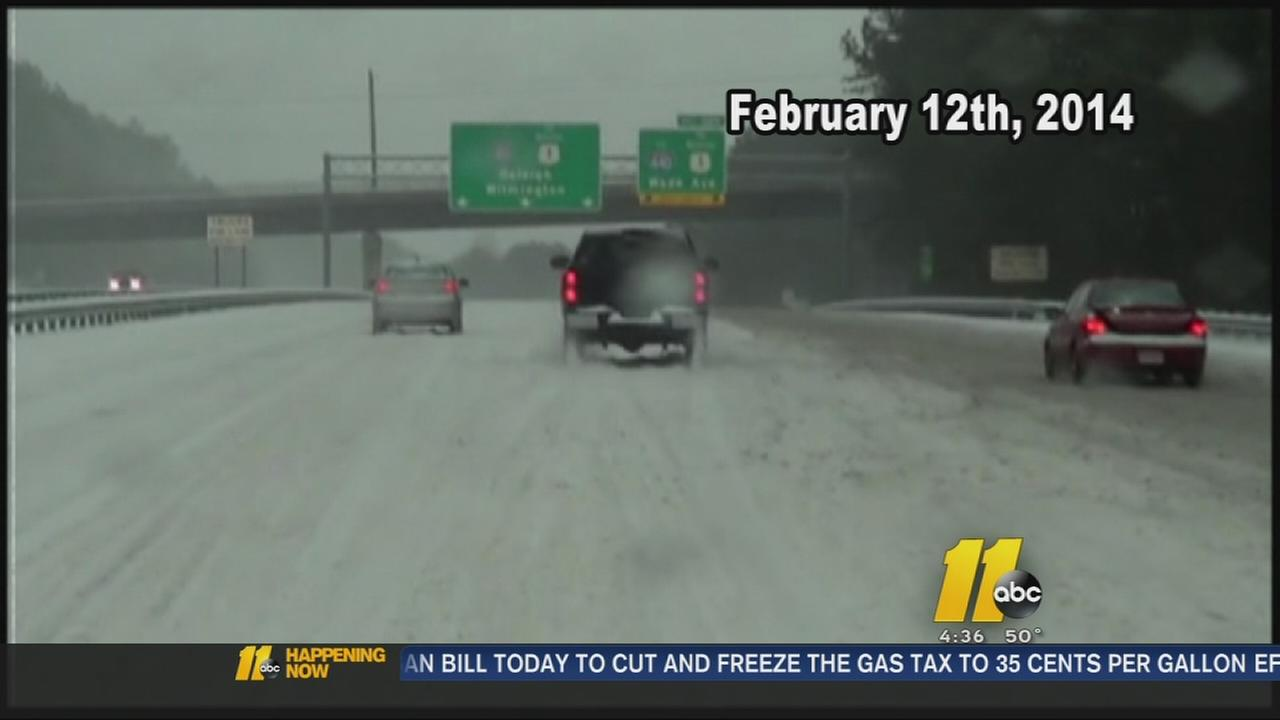 Anniversary of major Raleigh snow storm marked