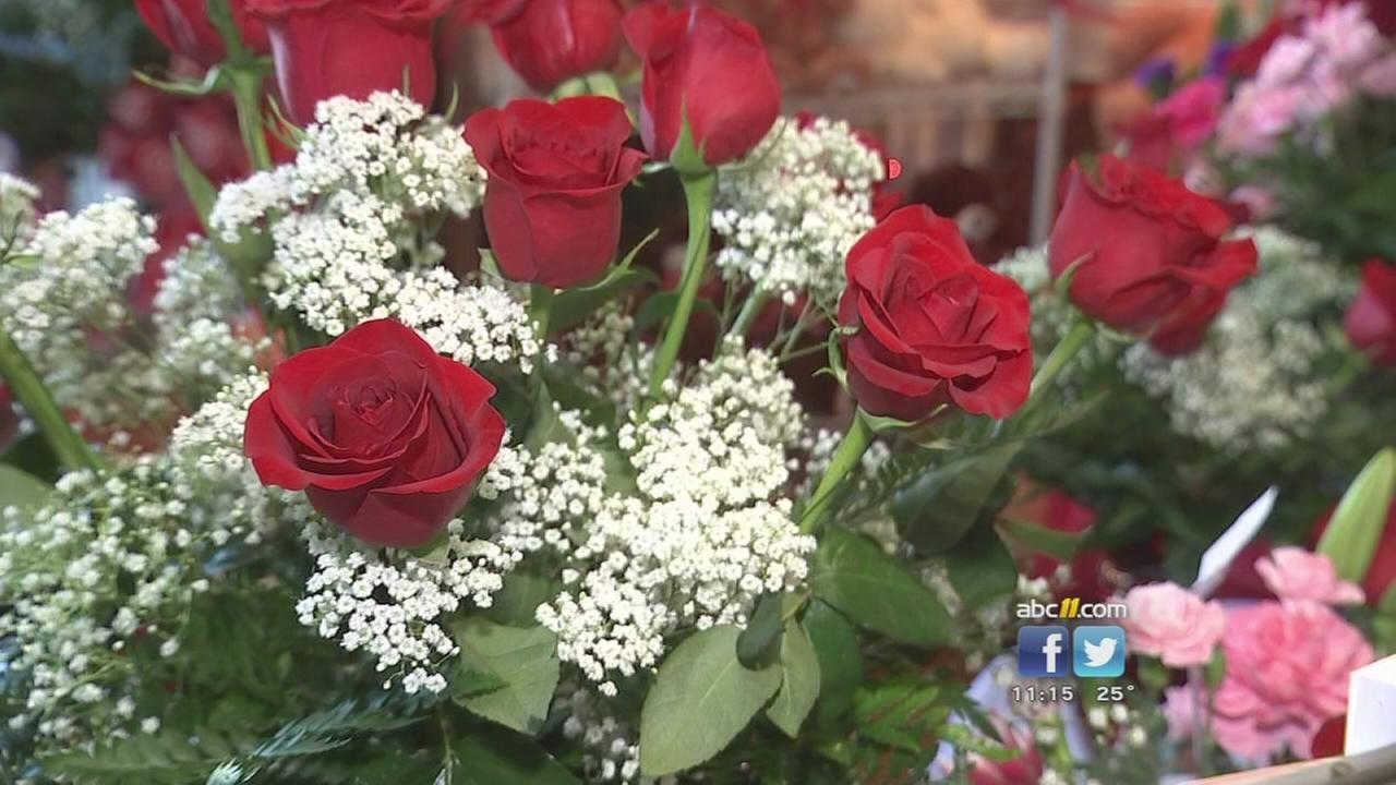 Florists experience Valentines Day crunch