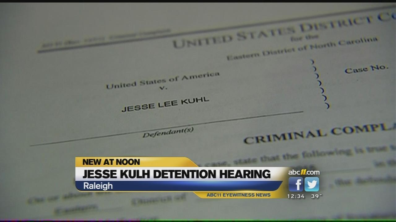 Jesse Kulh detention hearing