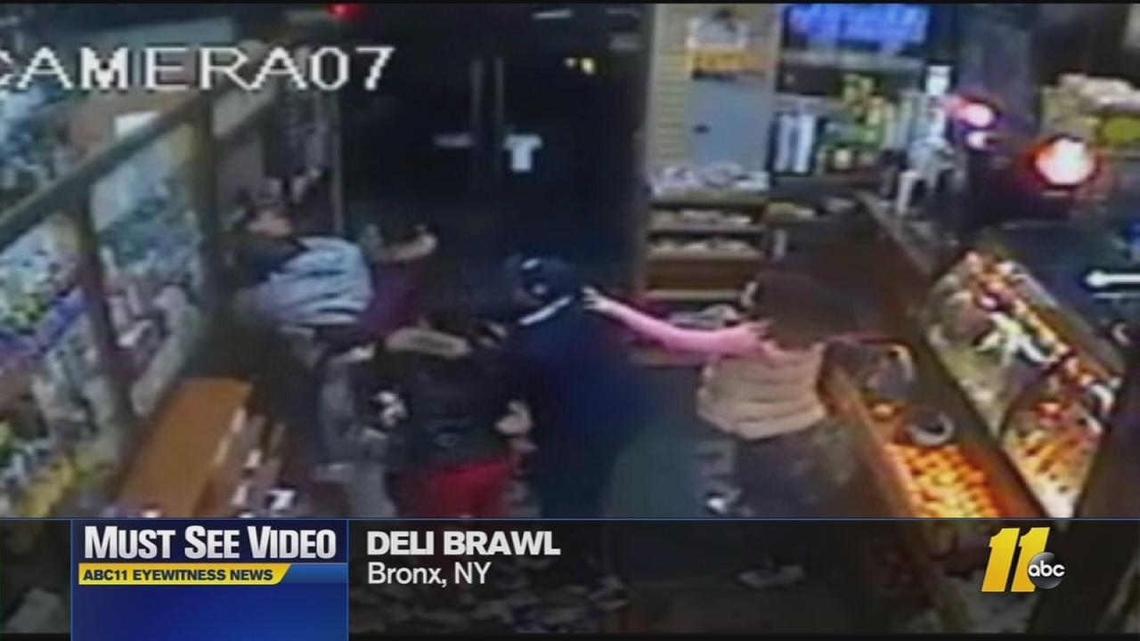 Must-See Videos: Police looking for suspects in Deli brawl