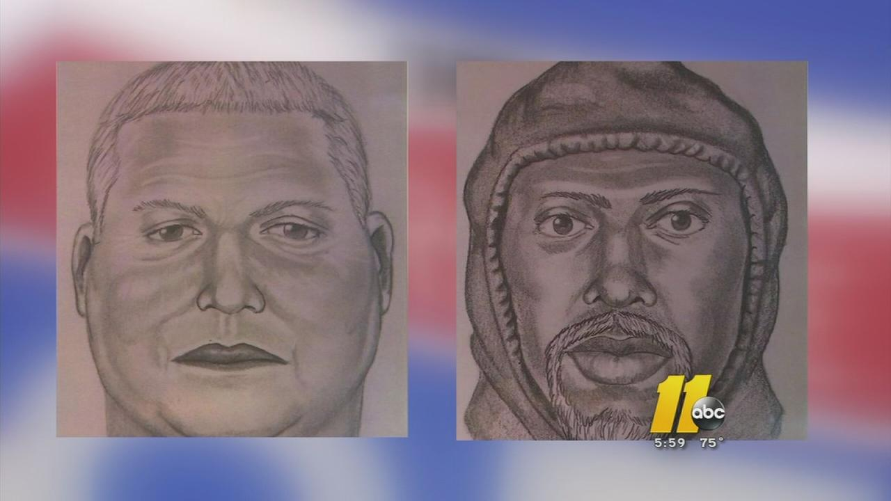 Detectives suspected inside job in gold heist- suspect sketches