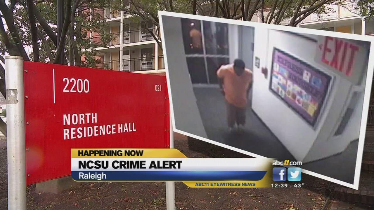 NC State on alert after dorm burglary