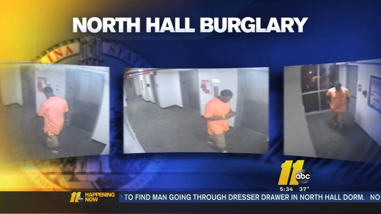 Man charged in NC State dorm burglary