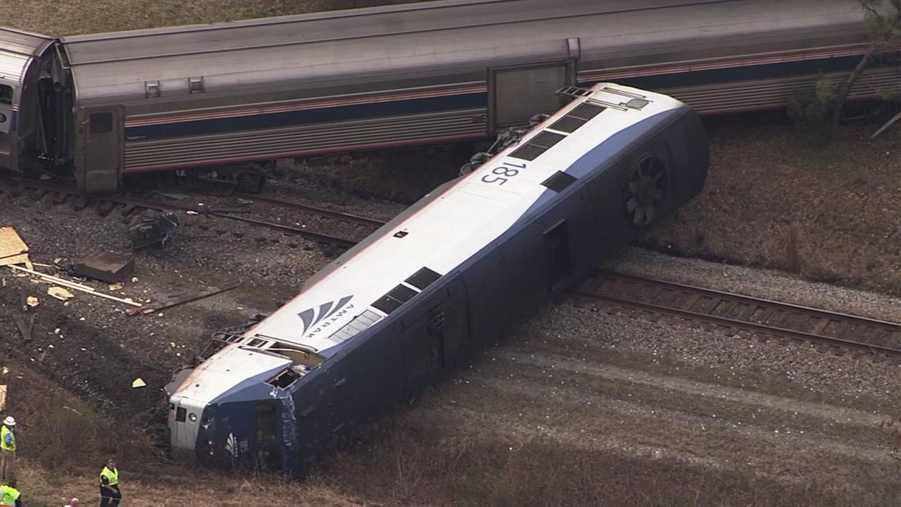 Amtrak train slams into truck in Halifax