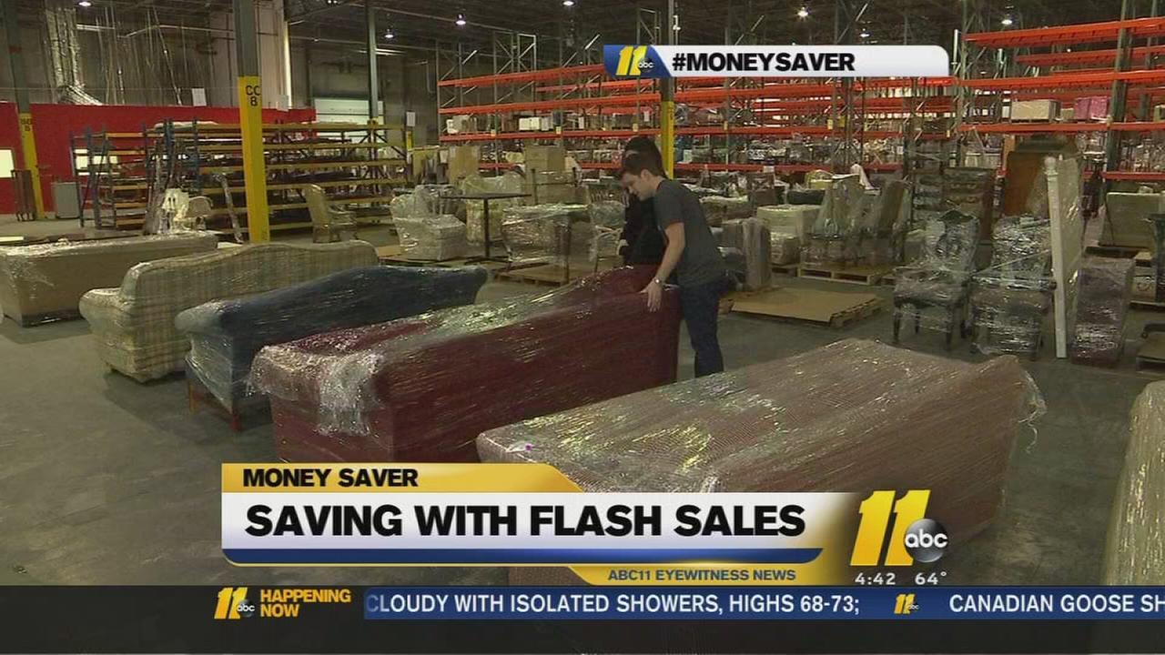 MoneySaver: Flash sales offer short term deals with big savings