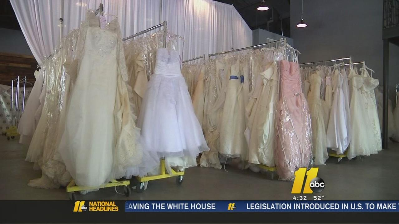 Bridal trunk show comes to Raleigh