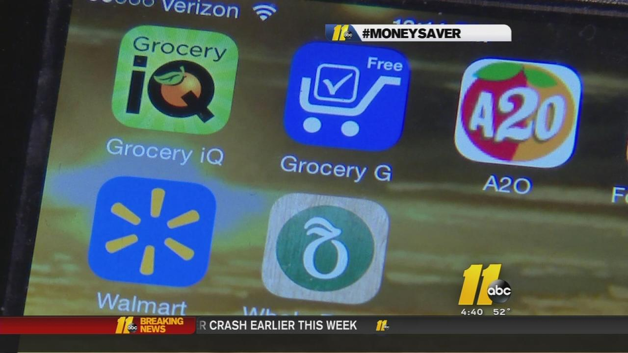 Apps can help you save big on groceries