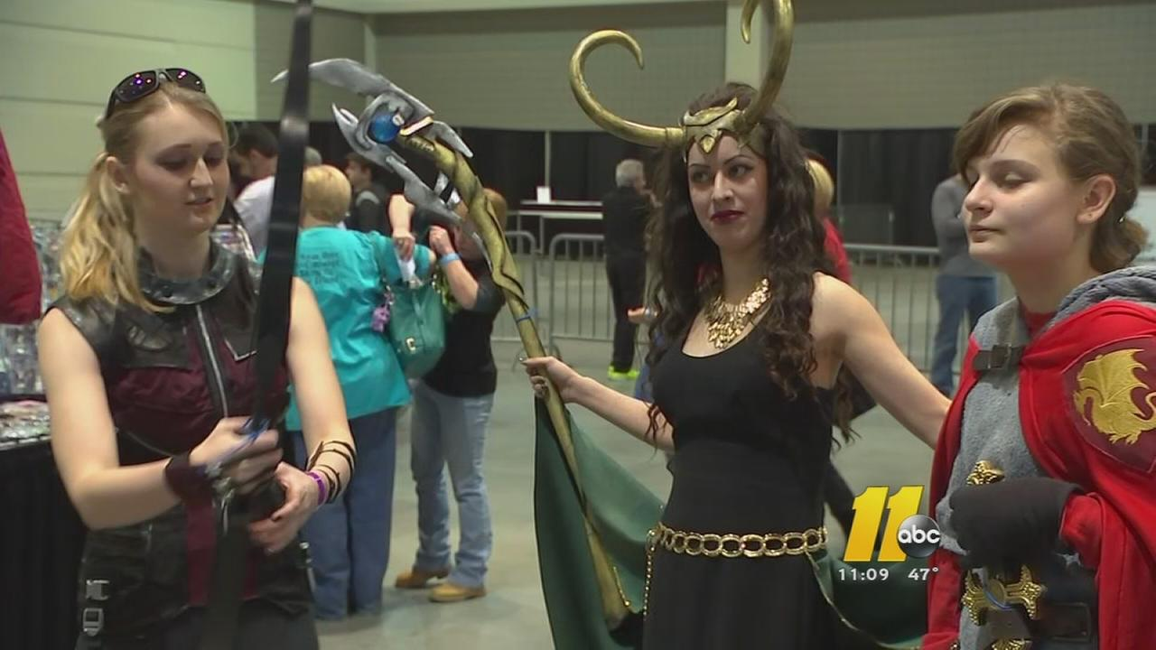 Comic Con hits Raleigh this weekend