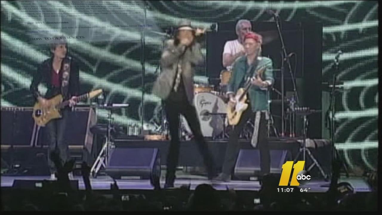 Rolling Stones fans wonder if band will play in Raleigh