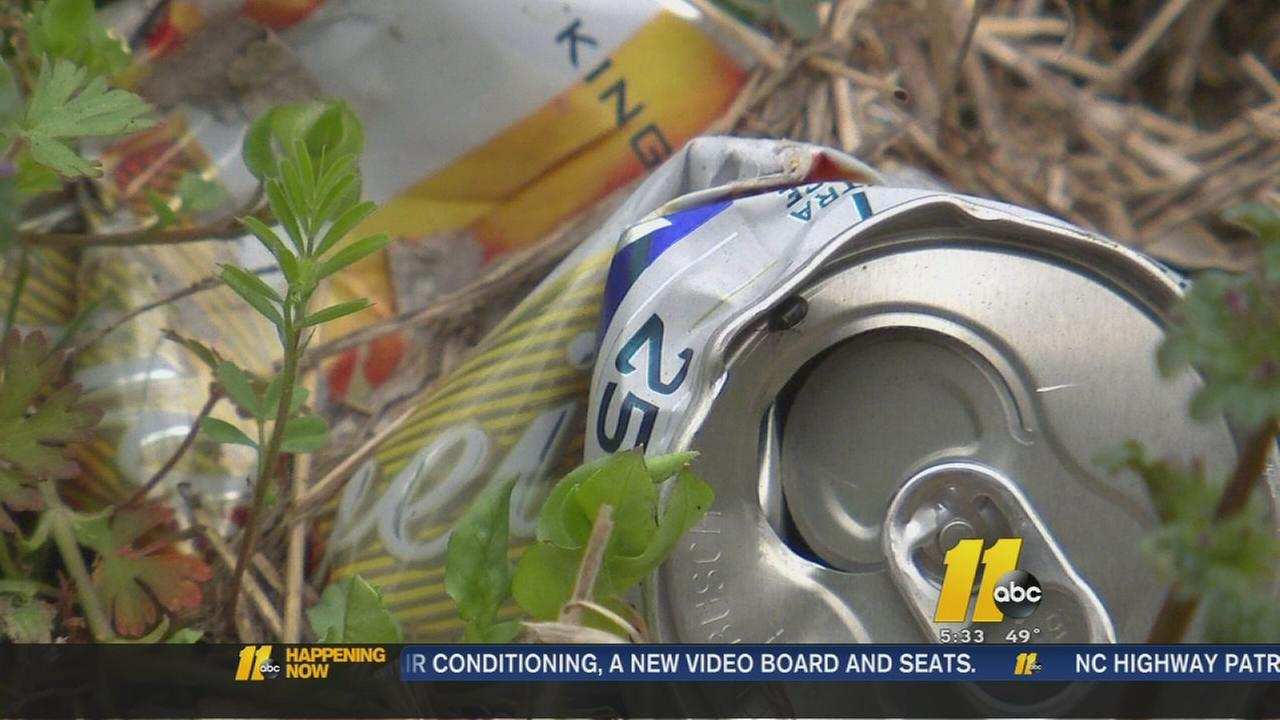North Carolina officials cracking down on litterbugs
