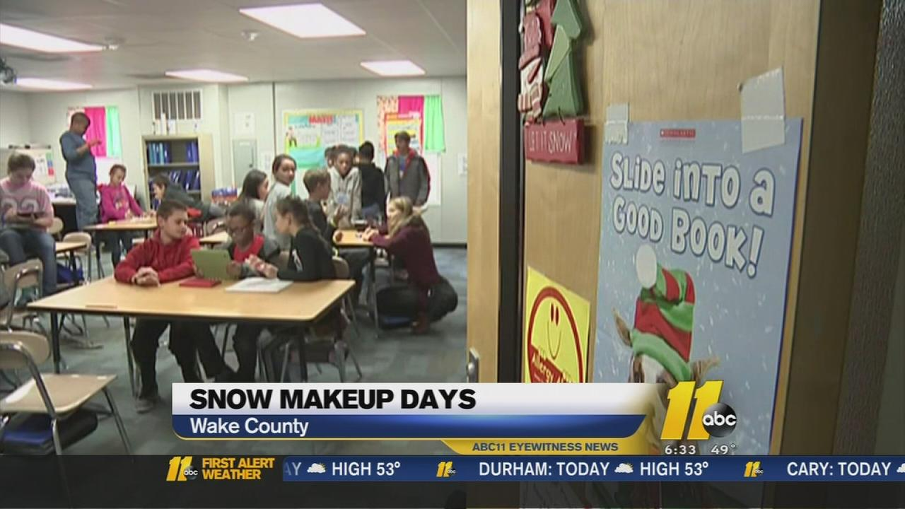 Snow days costing students their Spring Break