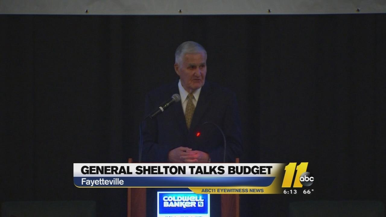Retired Four Star General Hugh Shelton weighs in on budget cuts