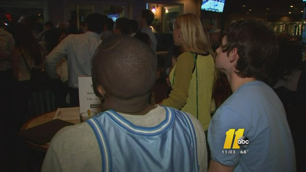UNC fans react to loss to Wisconsin