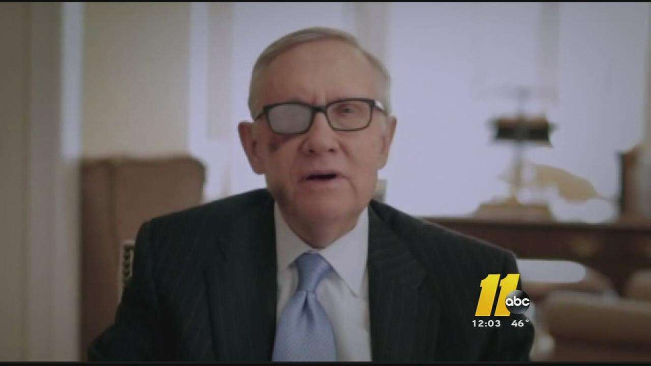 Harry Reid announces retirement