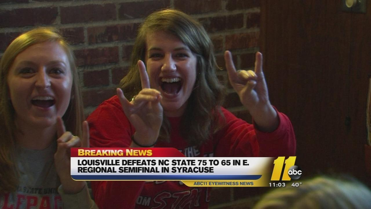 NC State fans react to NCAA Tournament loss