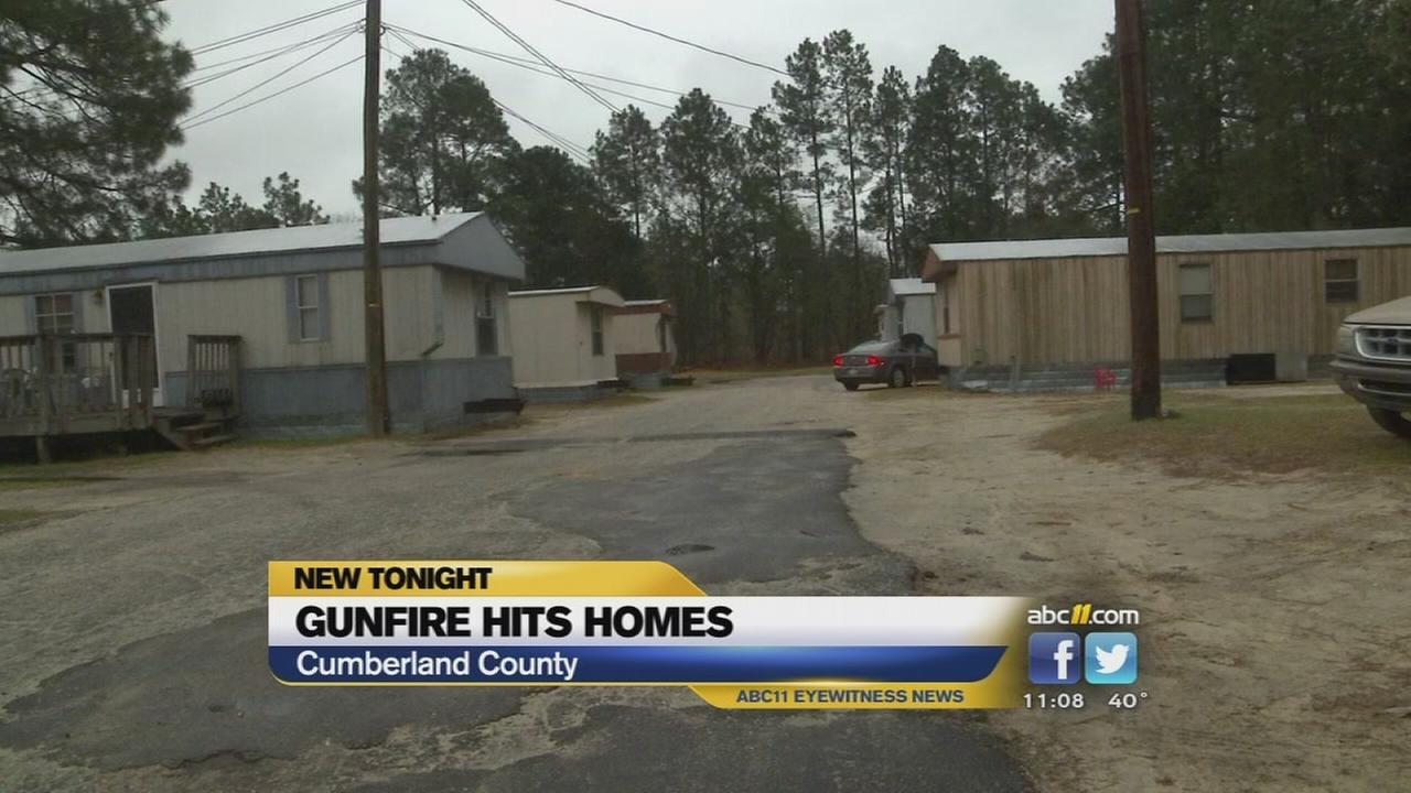 Bullets hit 2 Fayetteville homes