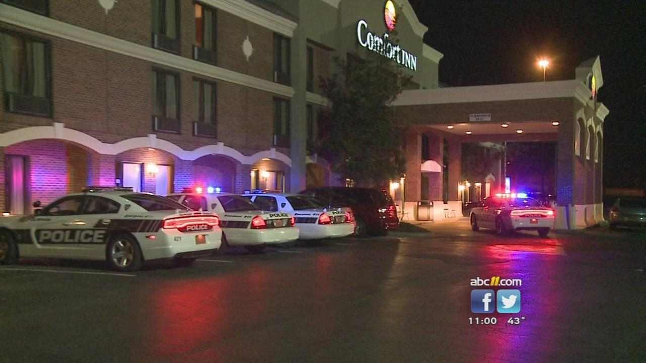 Shots fired at Durhams Comfort Inn