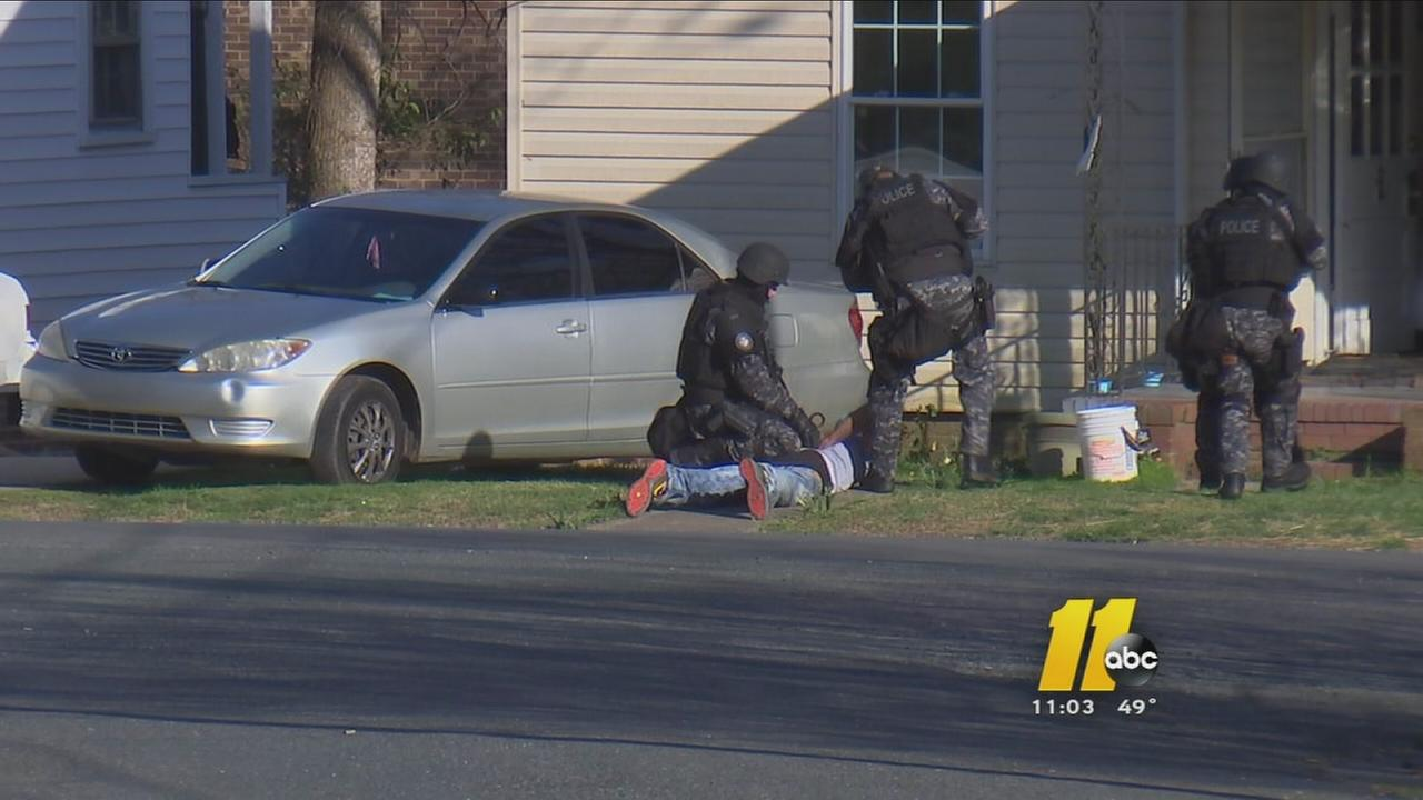 Durham man arrested after standoff -- Linwood Clay