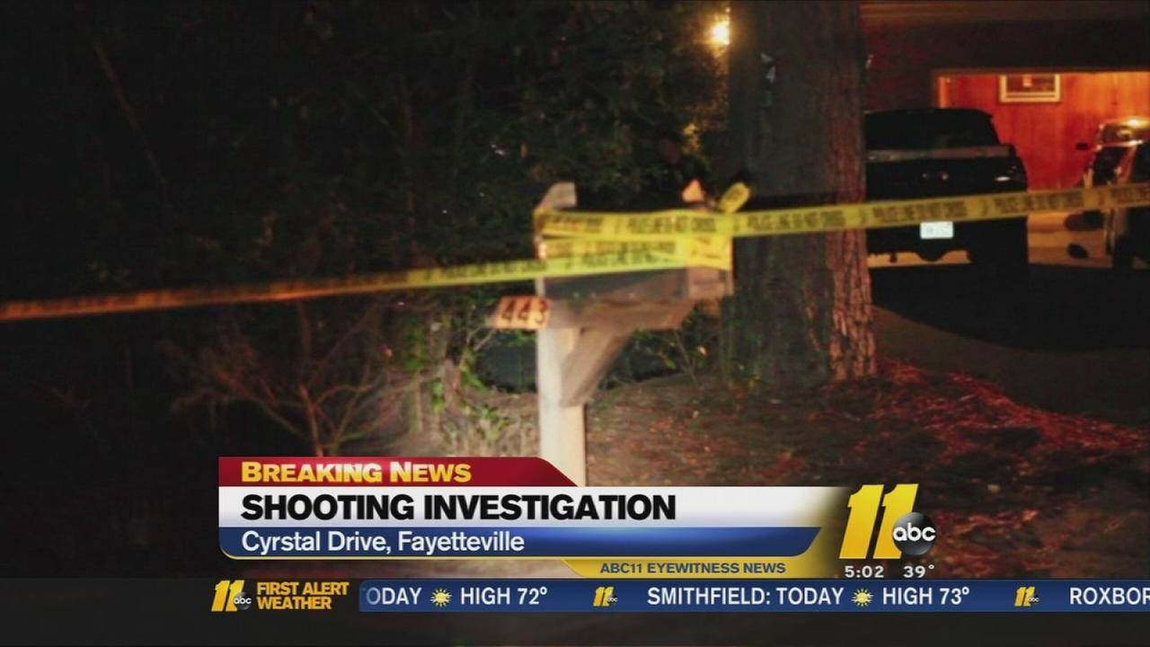Shooting under investigation in Fayetteville
