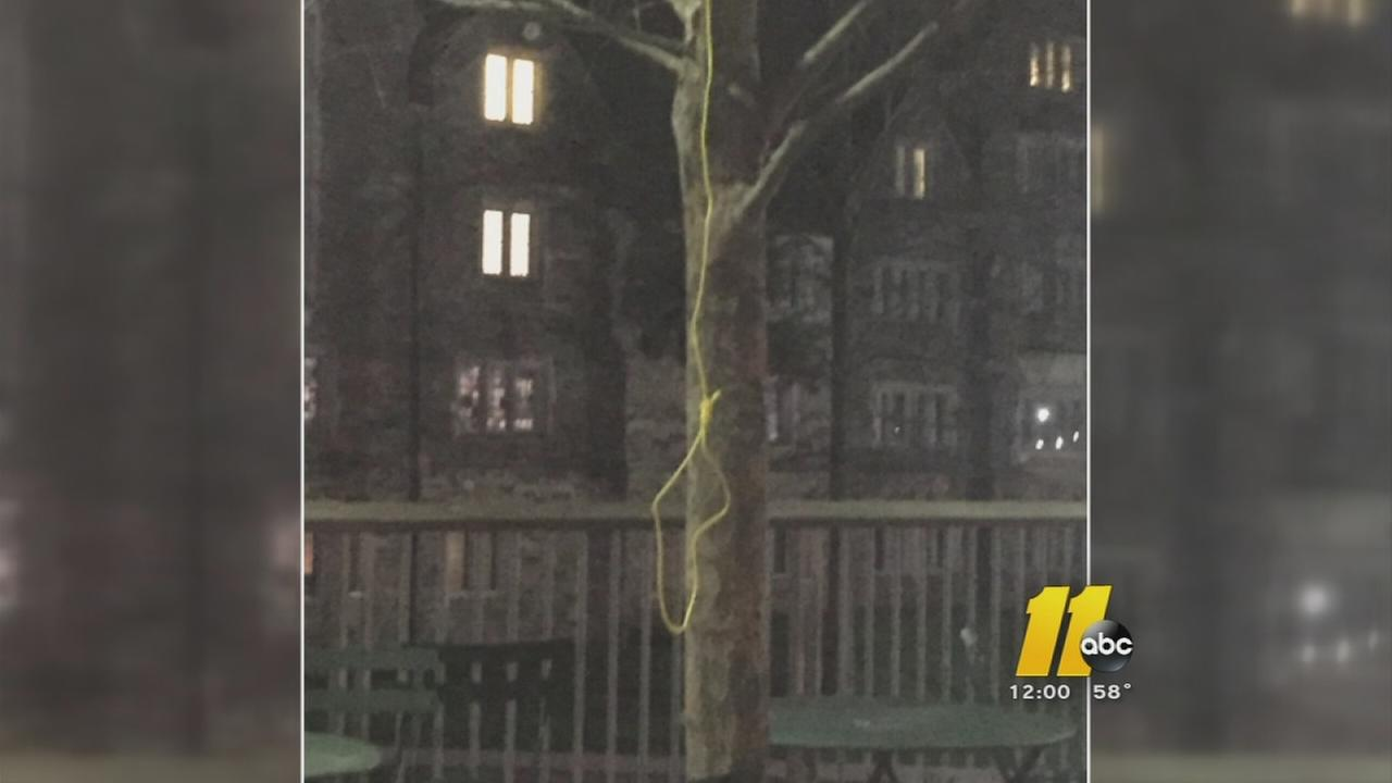 Duke investigating noose found on campus