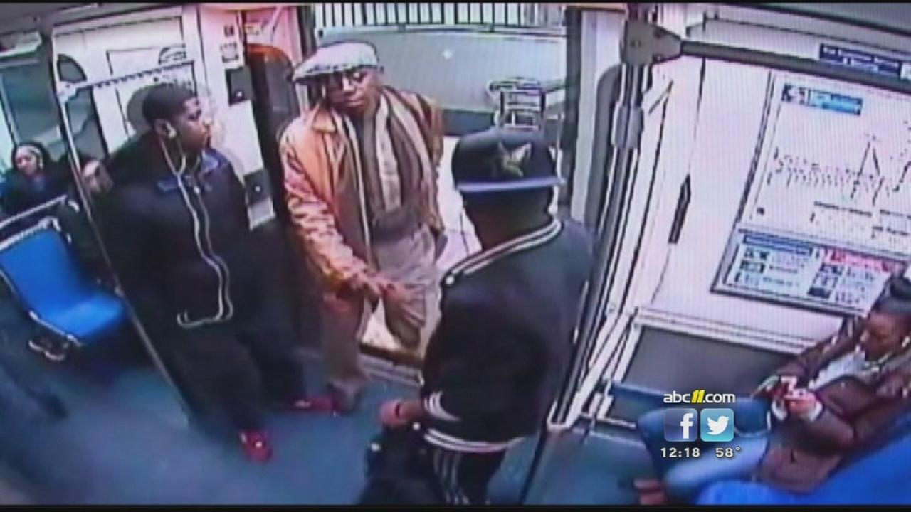 Man attacked on subway