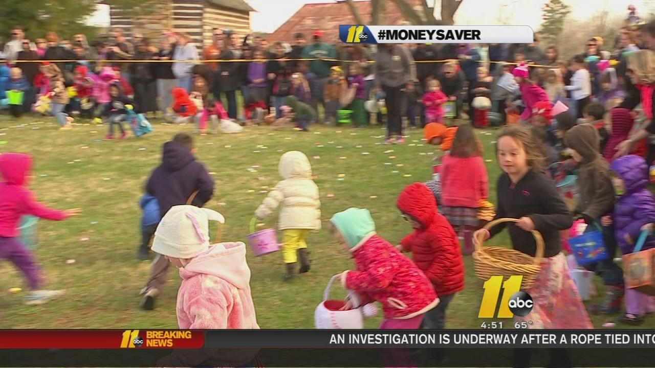 Free Easter egg hunts in the Triangle