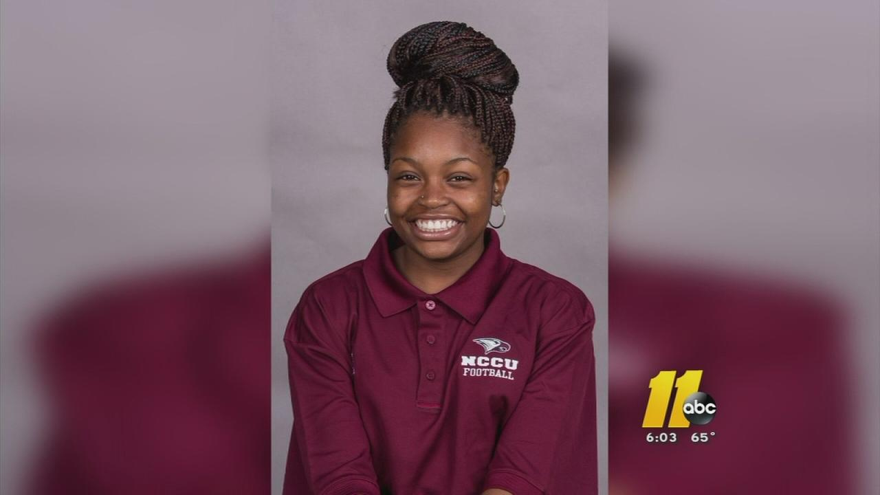 NCCU senior killed in crash remembered at memorial service -- Chekeria Reid