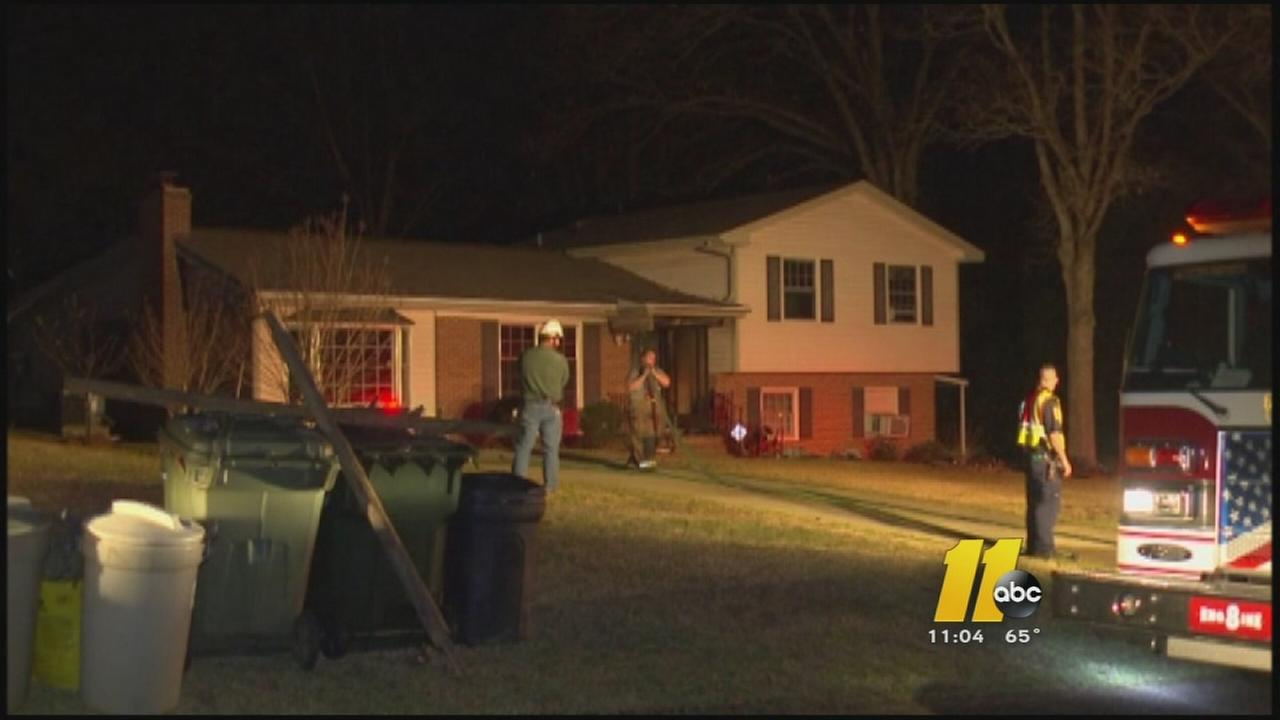 Crews battle Fayetteville house fire