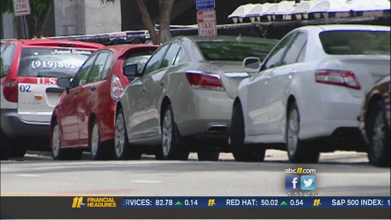 Raleigh growth cuts down parking spaces