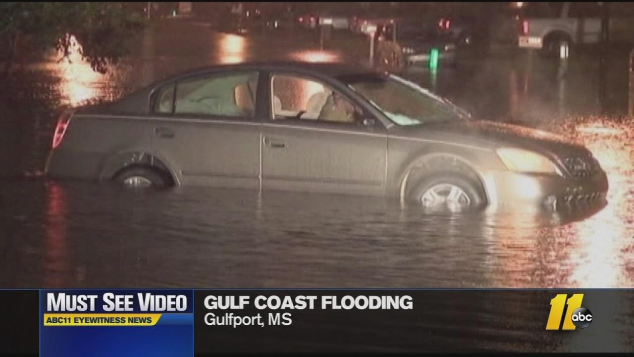 Must-See Videos: Gulf coast flooding