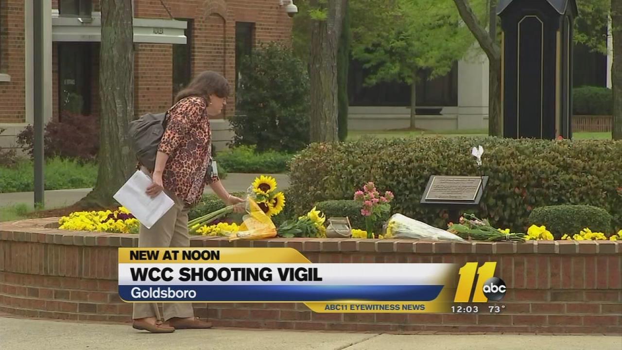 Wayne Community College shooting memorial