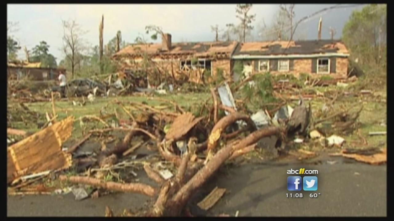 North Carolina remembers deadly tornadoes 4 years later