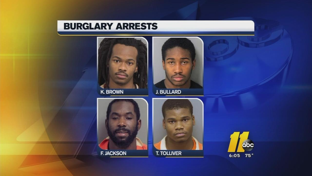 Burglary ring suspects