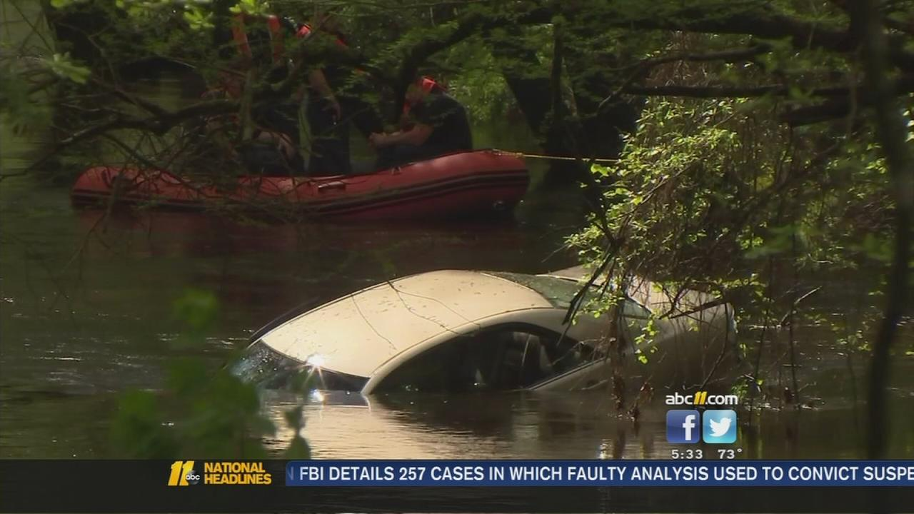 Man survives crash into river