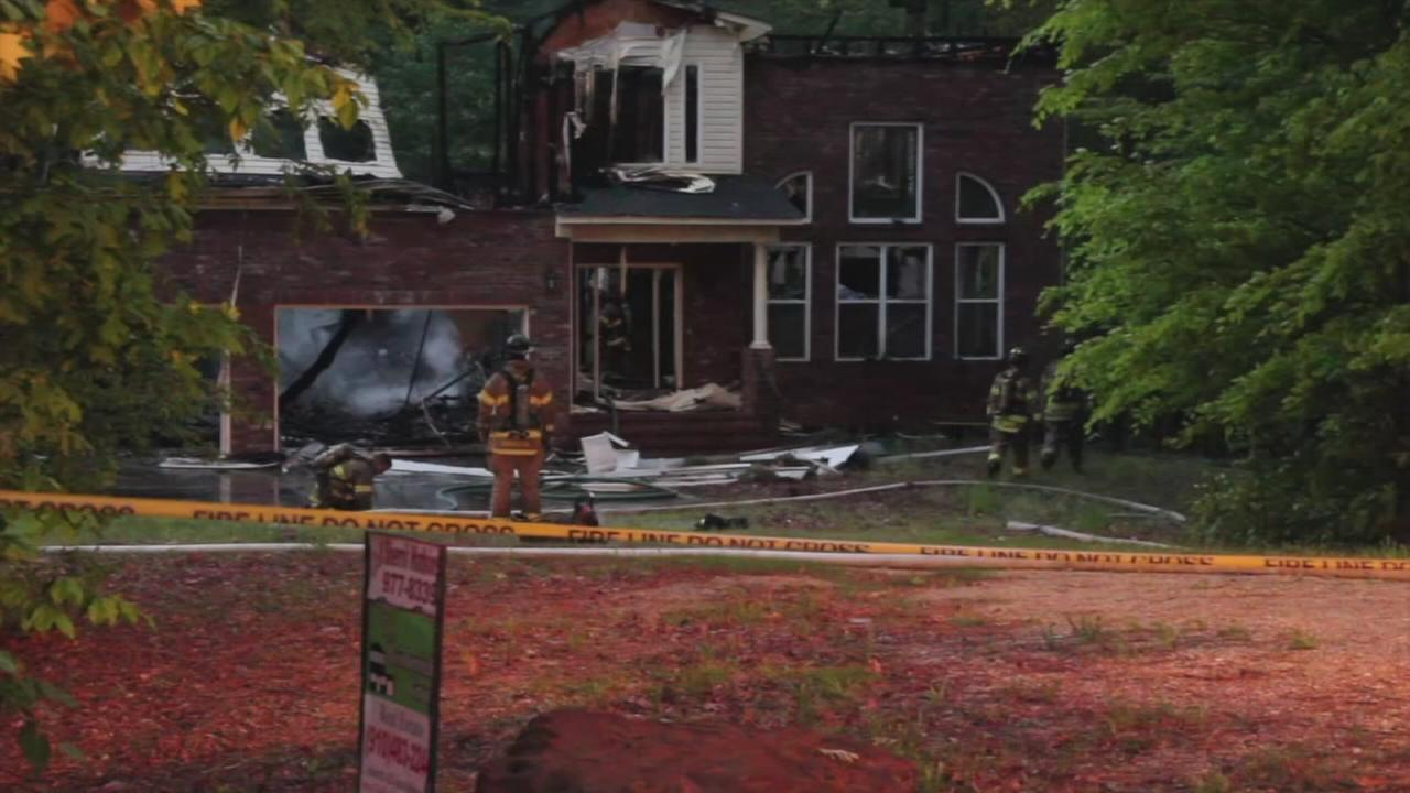 Raw Video: Fayettevile fires