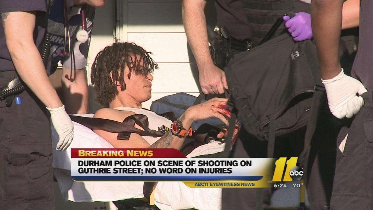 Man shot on Guthrie Street in Durham