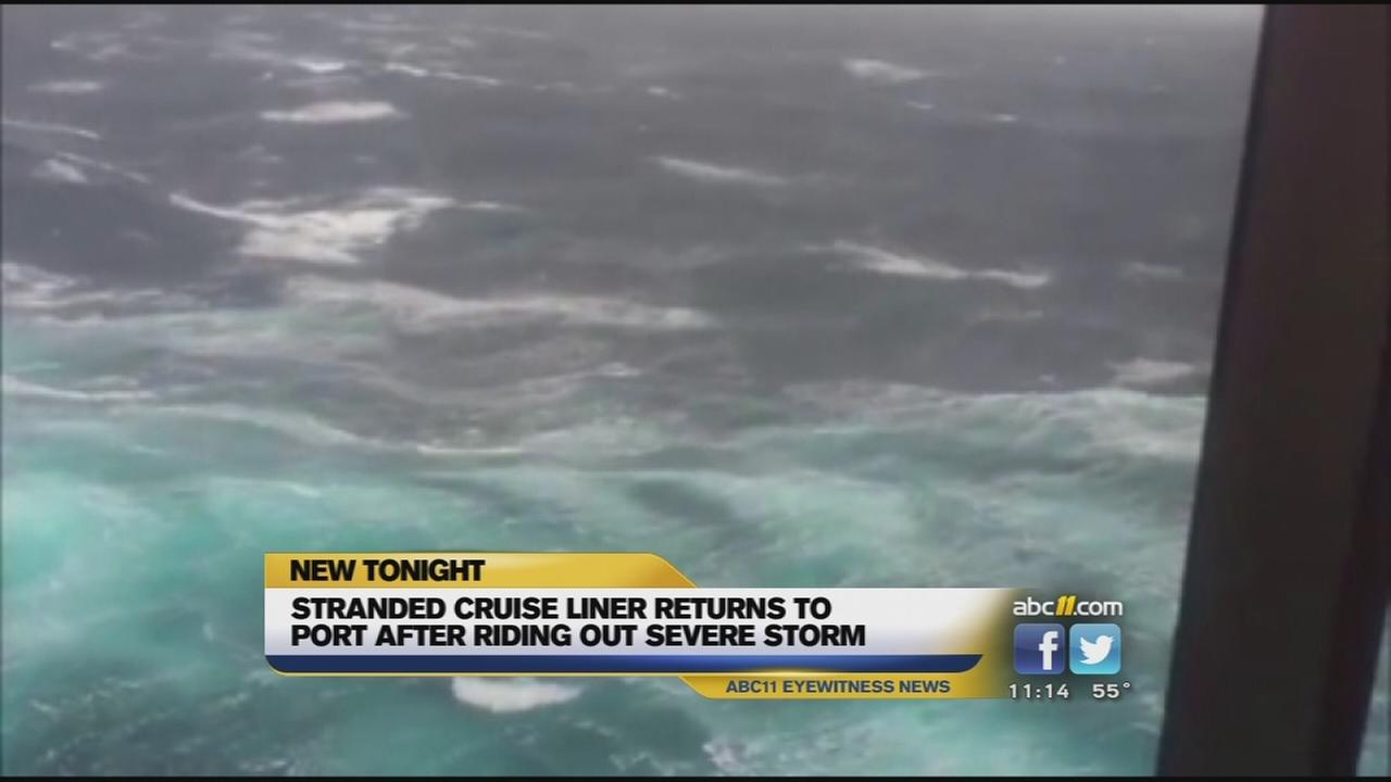 NC woman onboard Sydney cruise ship lashed by huge waves