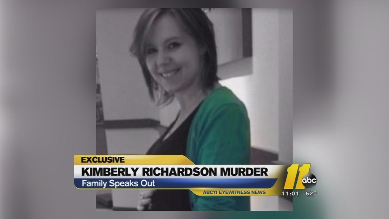 Family remembers slain pregnant woman -- Kimberly Richardson