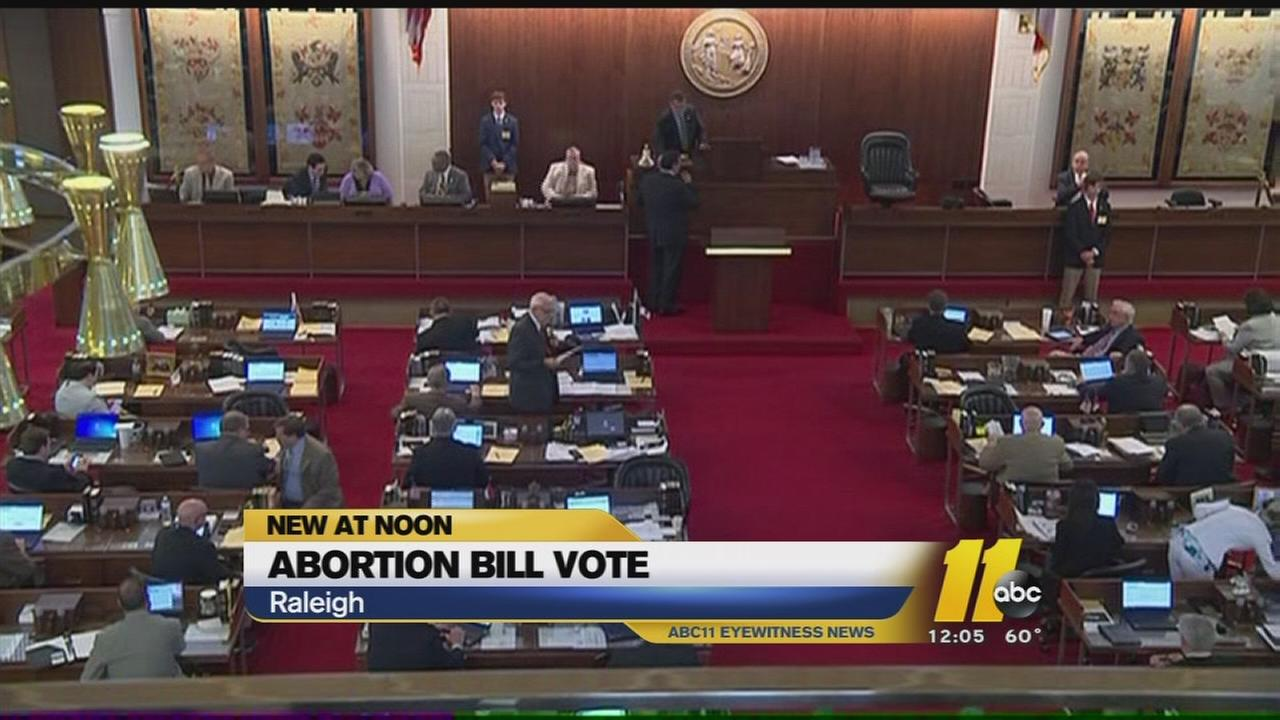 North Carolina House proposes to extend abortion wait to 72 hours