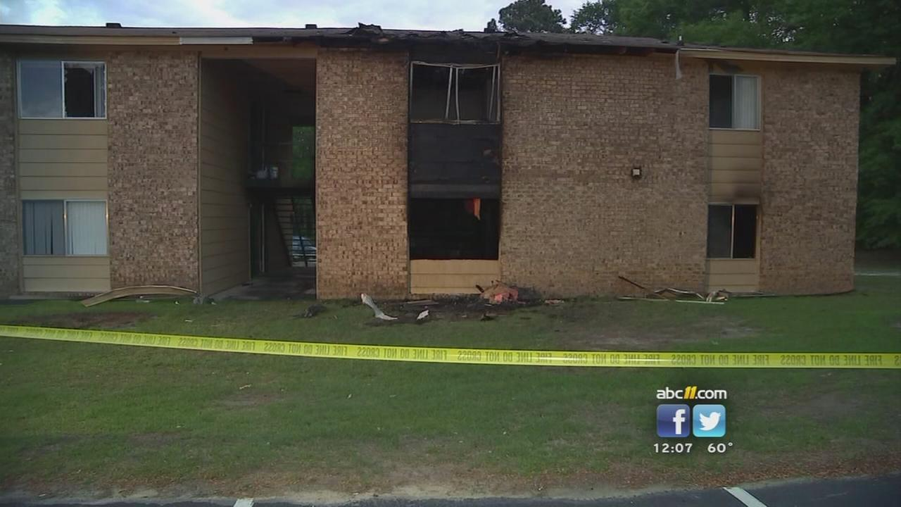 Fayetteville fire forces families from homes